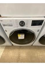 LG Electronics WM4200HWA 27 in. 5 cu. ft. White Ultra Large Capacity Front Load Washing Machine with TurboWash360, Steam