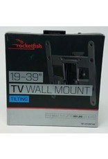"Rocketfish™ Rocketfish™ - Tilting TV Wall Mount for Most 19"" to 39"" TVs - Black"