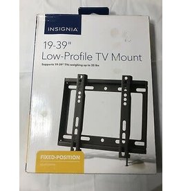"""Insignia™ Insignia™ Insignia™ - Fixed TV Wall Mount for Most 19"""" - 39"""" TVs"""