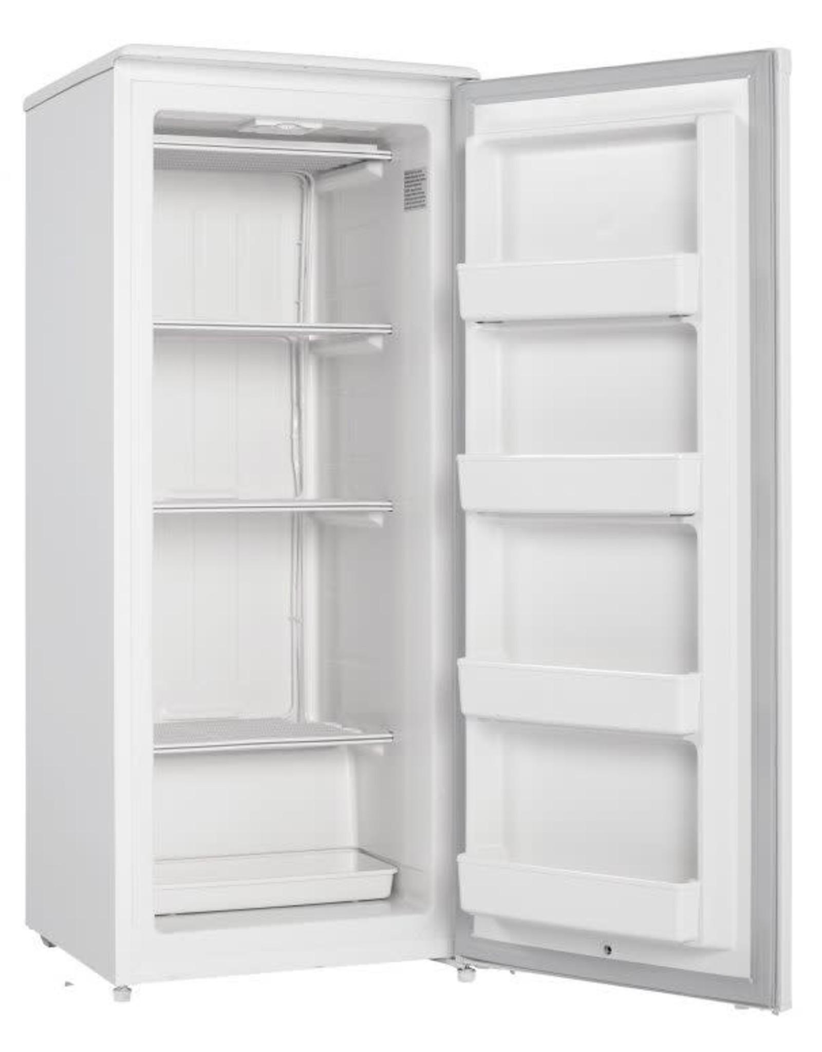 DANBY DUFM085A4WDD 8.5 cu. ft. Manual Defrost Upright Freezer in White