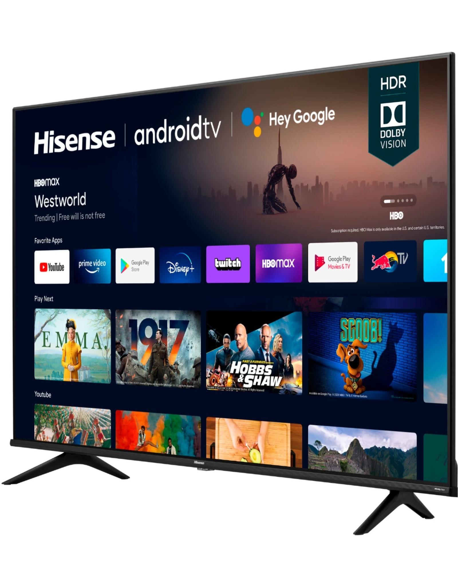 "HISENSE 65A6G 65"" 4K UHD HISENSE ANDROID SMART TV (2021)"