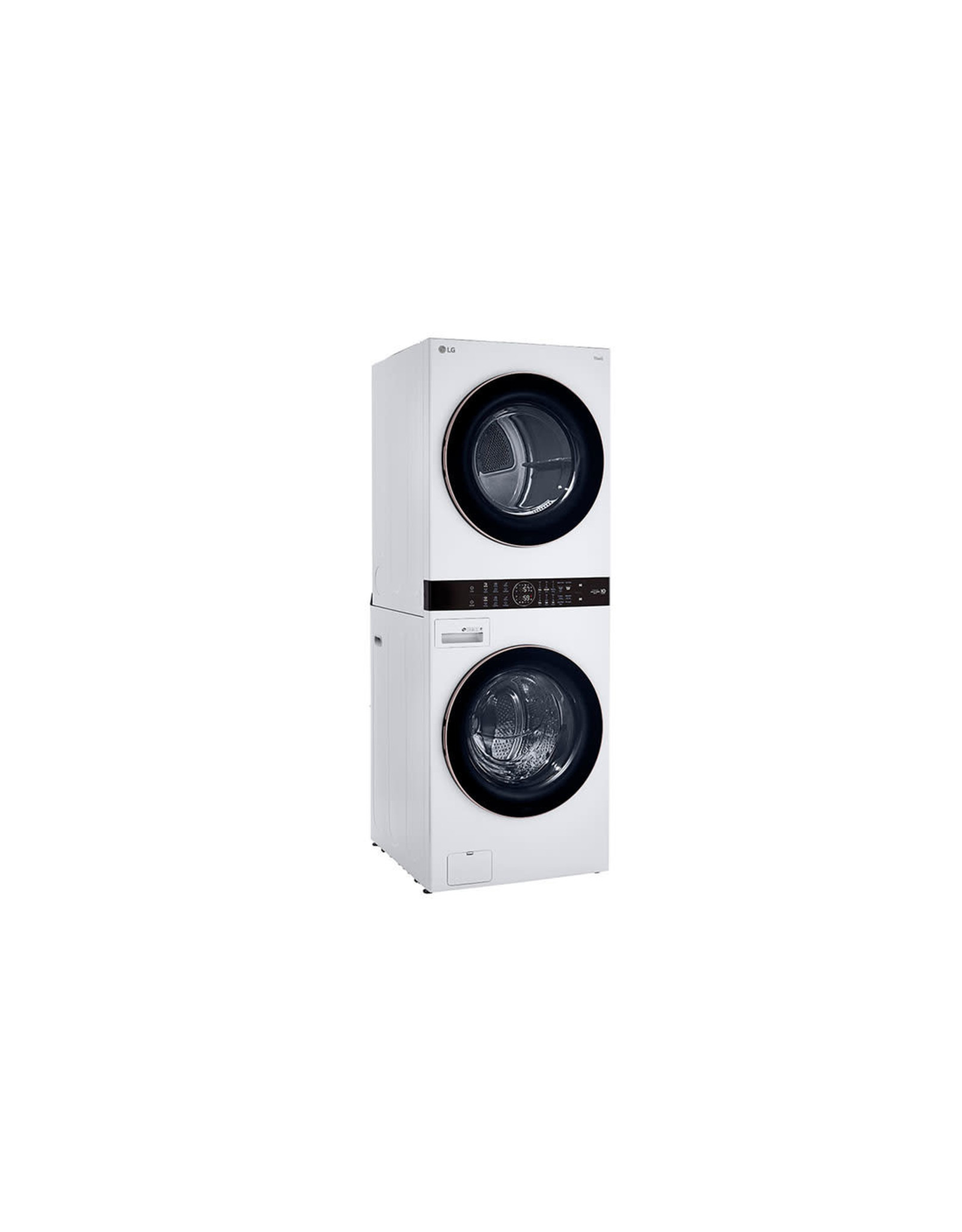 LG Electronics WKE100HWA Single Unit Front Load LG WashTower™ with Center Control™ 4.5 cu. ft. Washer and 7.4 cu. ft. Electric Dryer