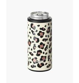 swig Luxy Leopard Skinny Can Cooler