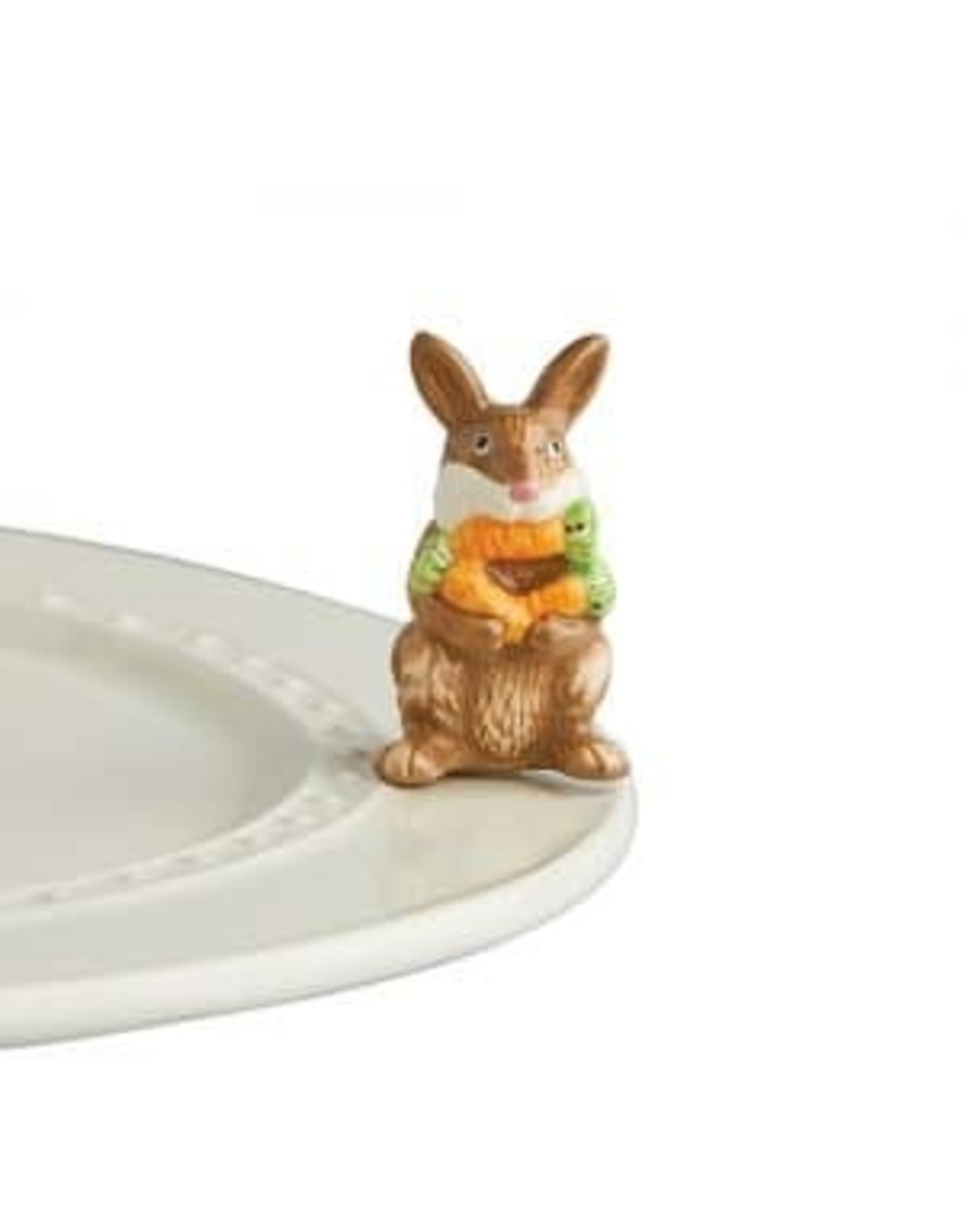 Nora Fleming Funny bunny ( brown bunny )