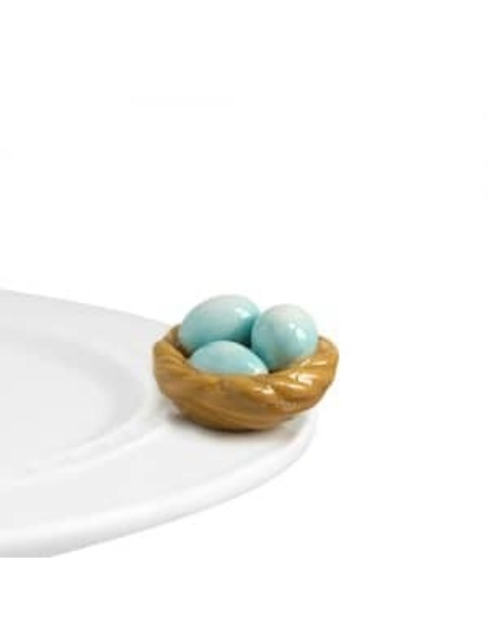 Nora Fleming Robin's egg blue (nest)
