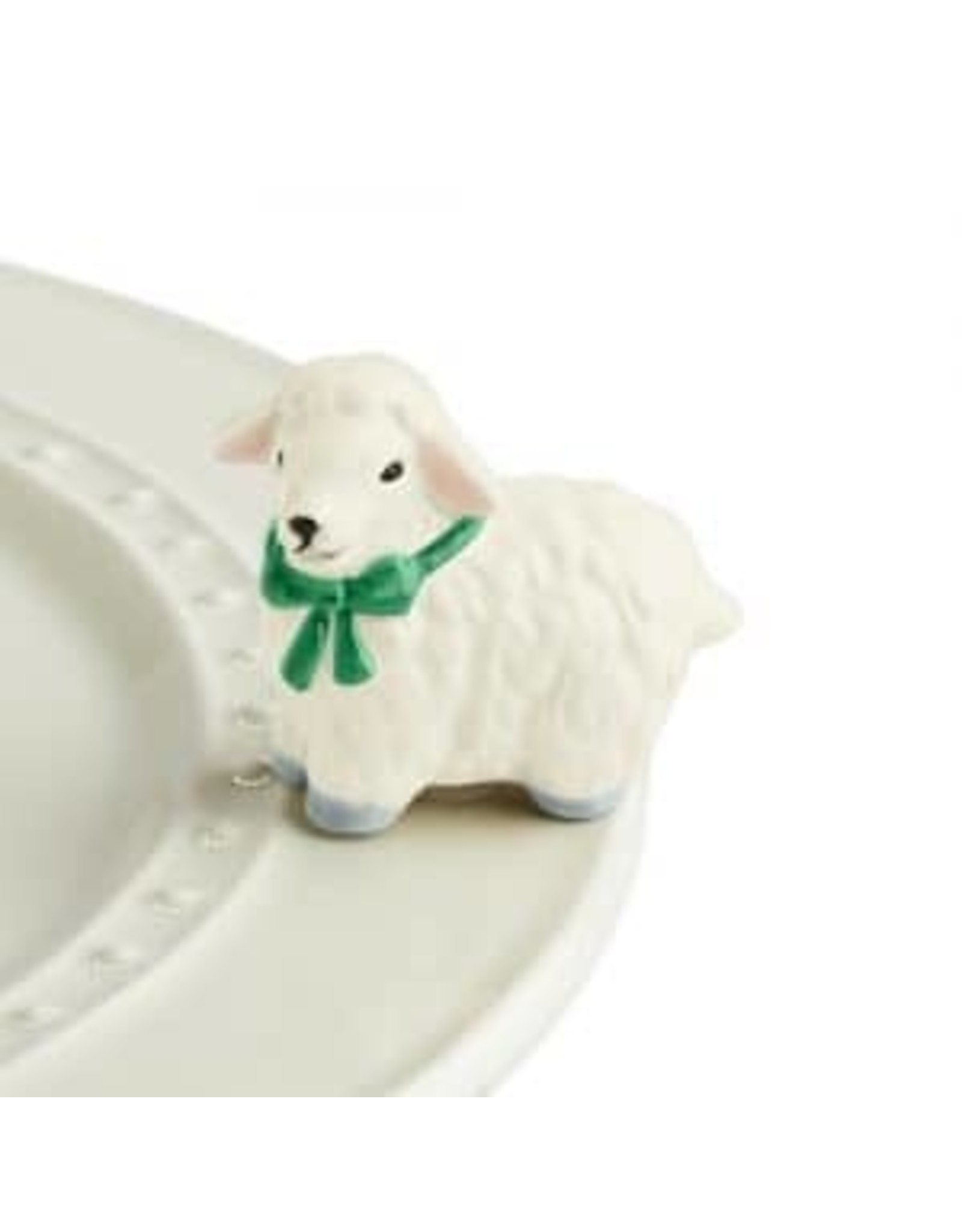 Nora Fleming I love ewe !!!  ( white lamb )