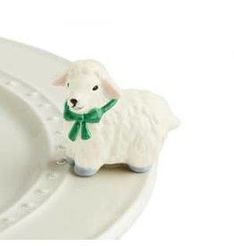 Nora Fleming I love ewe !!!  ( white lamb )