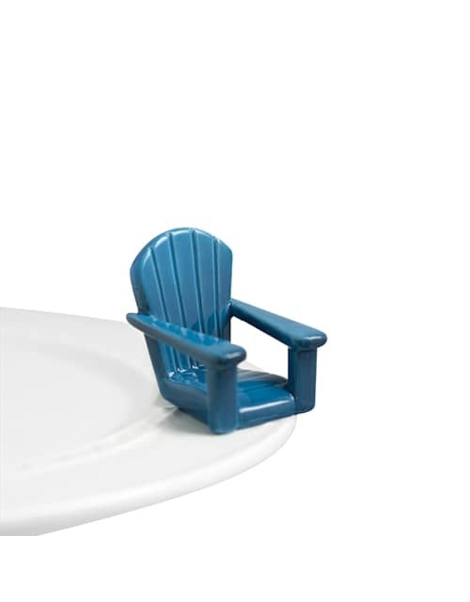 Chillin' blue chair (adirondack chair)
