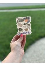 Around the town sticker (Lexington)