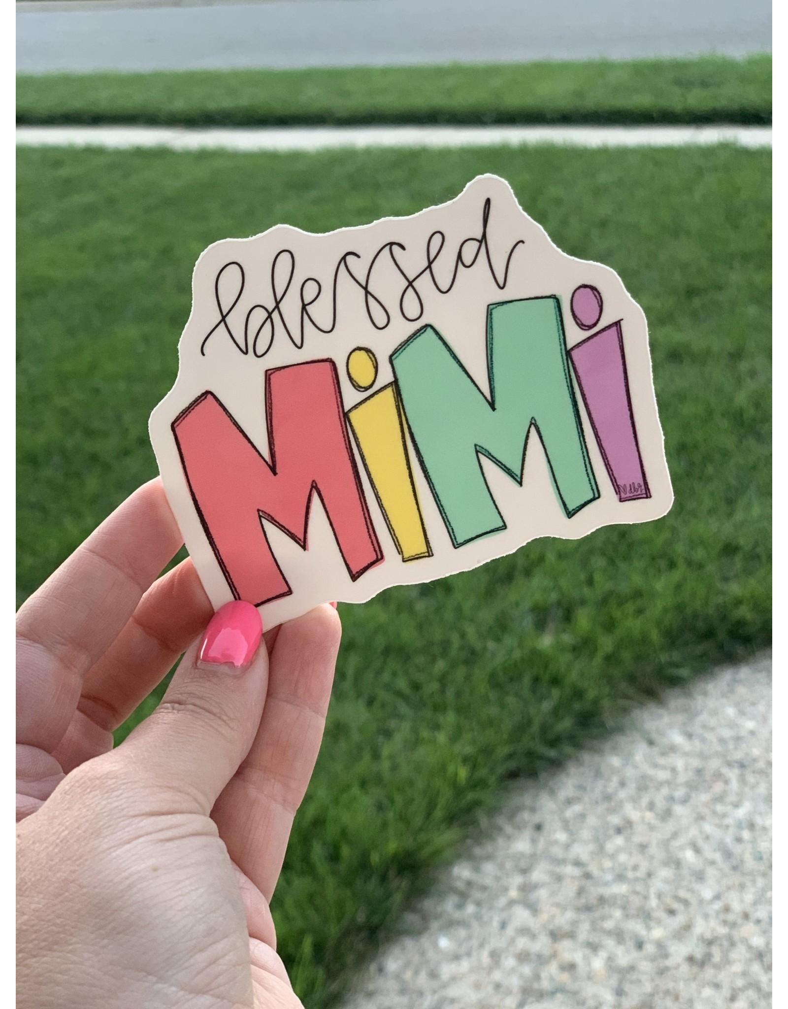 Blessed Mimi sticker