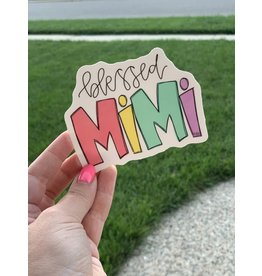 Blessed Mimi sticker