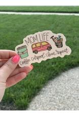 Mom Life sticker