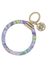 Mermaid in the Shade Round Keychain