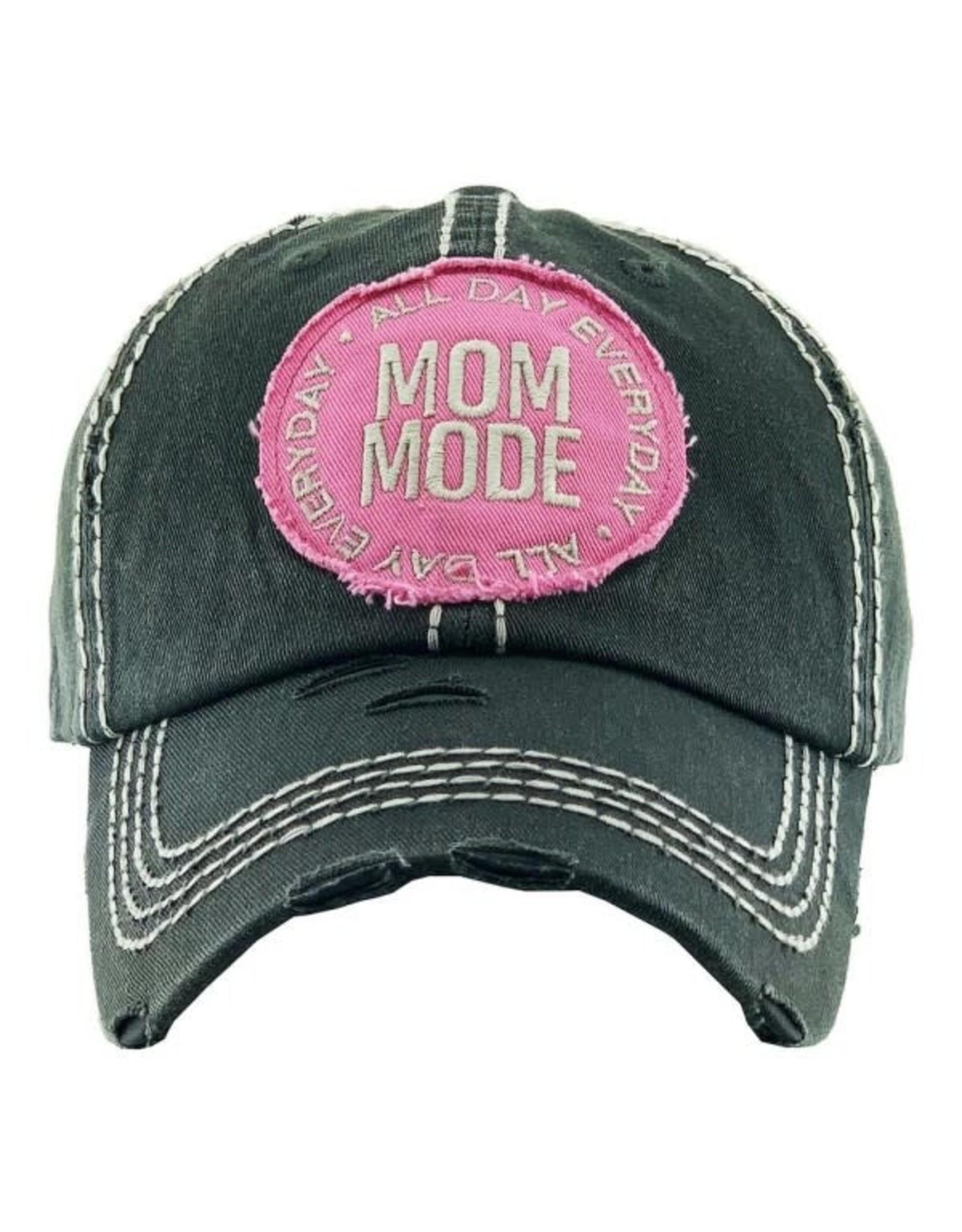 Mom Mode hat Grey