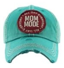 Mom Mode Hat Teal