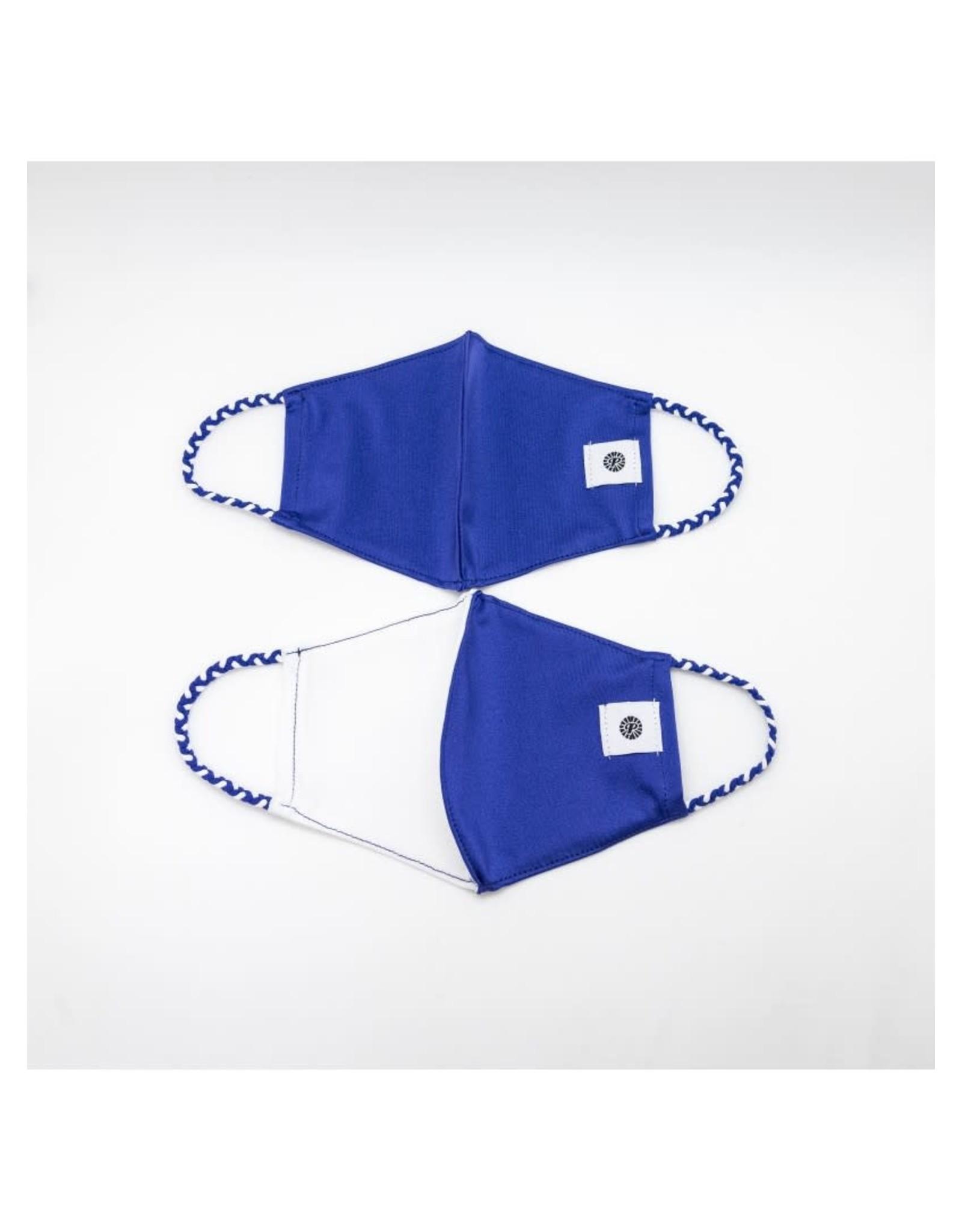 Royal/White Pomchie Mask 2-pack