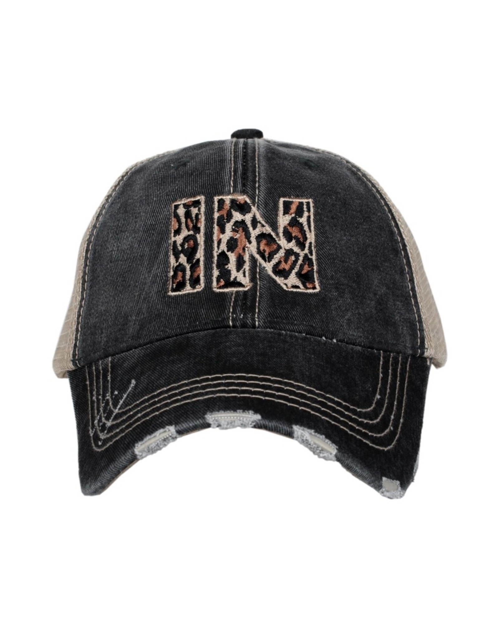 Indiana Leopard Trucker Hat