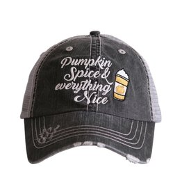 Pumpkin Spice & Everything Nice Trucker Hat