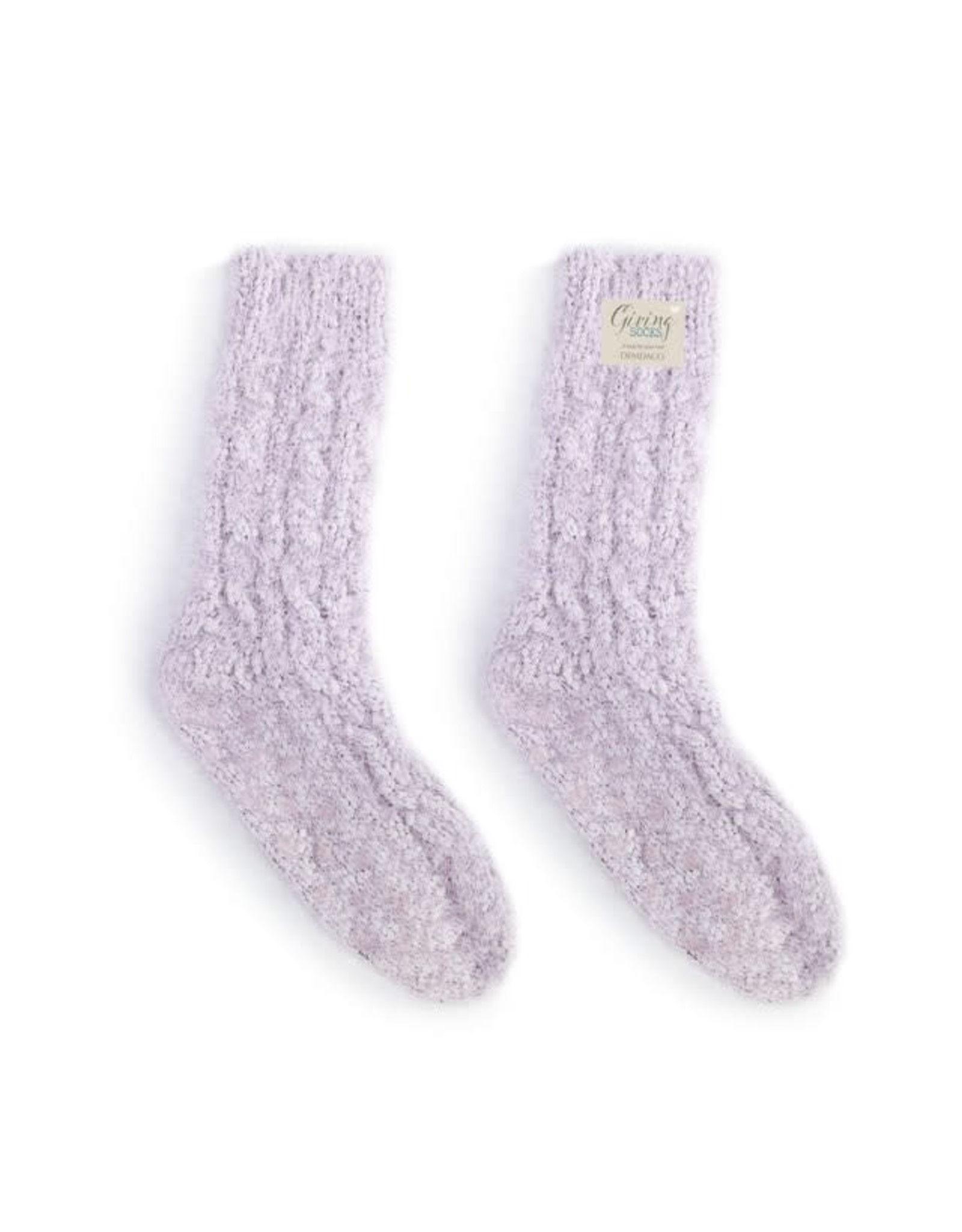 Light Purple Giving Socks