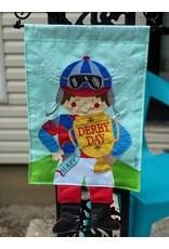 Jockey Dangle Legs Flag