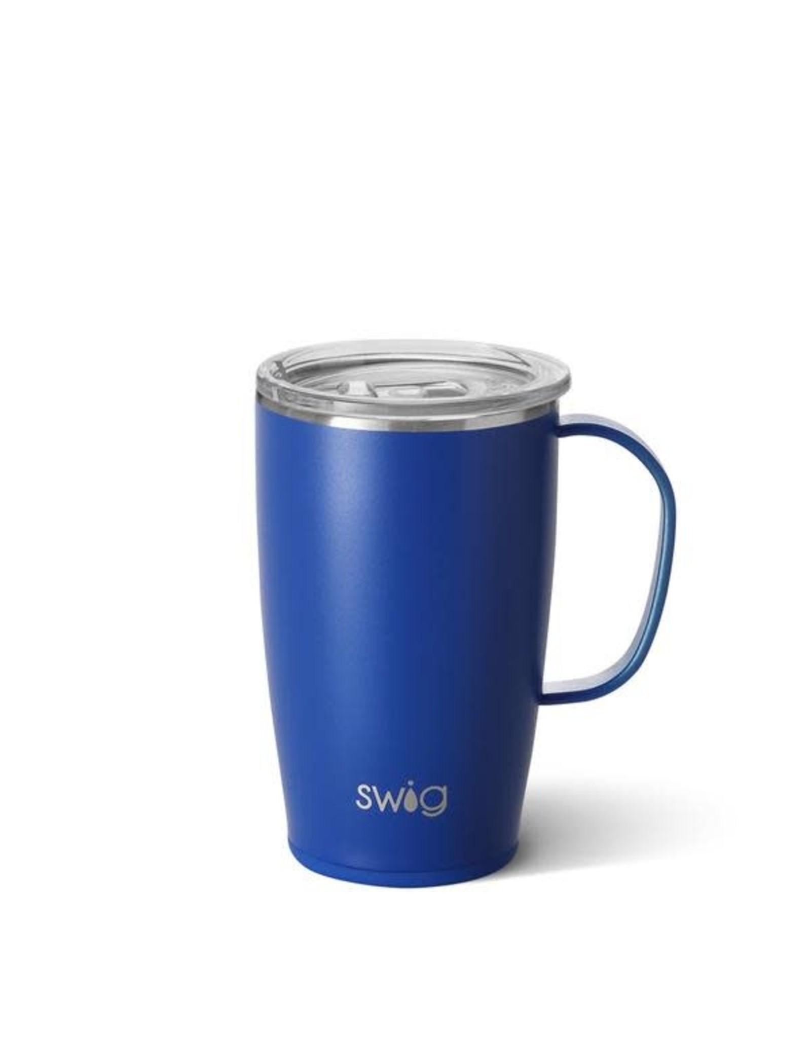 Matte Royal Swig Mug