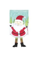 Dangle Legs Santa Flag