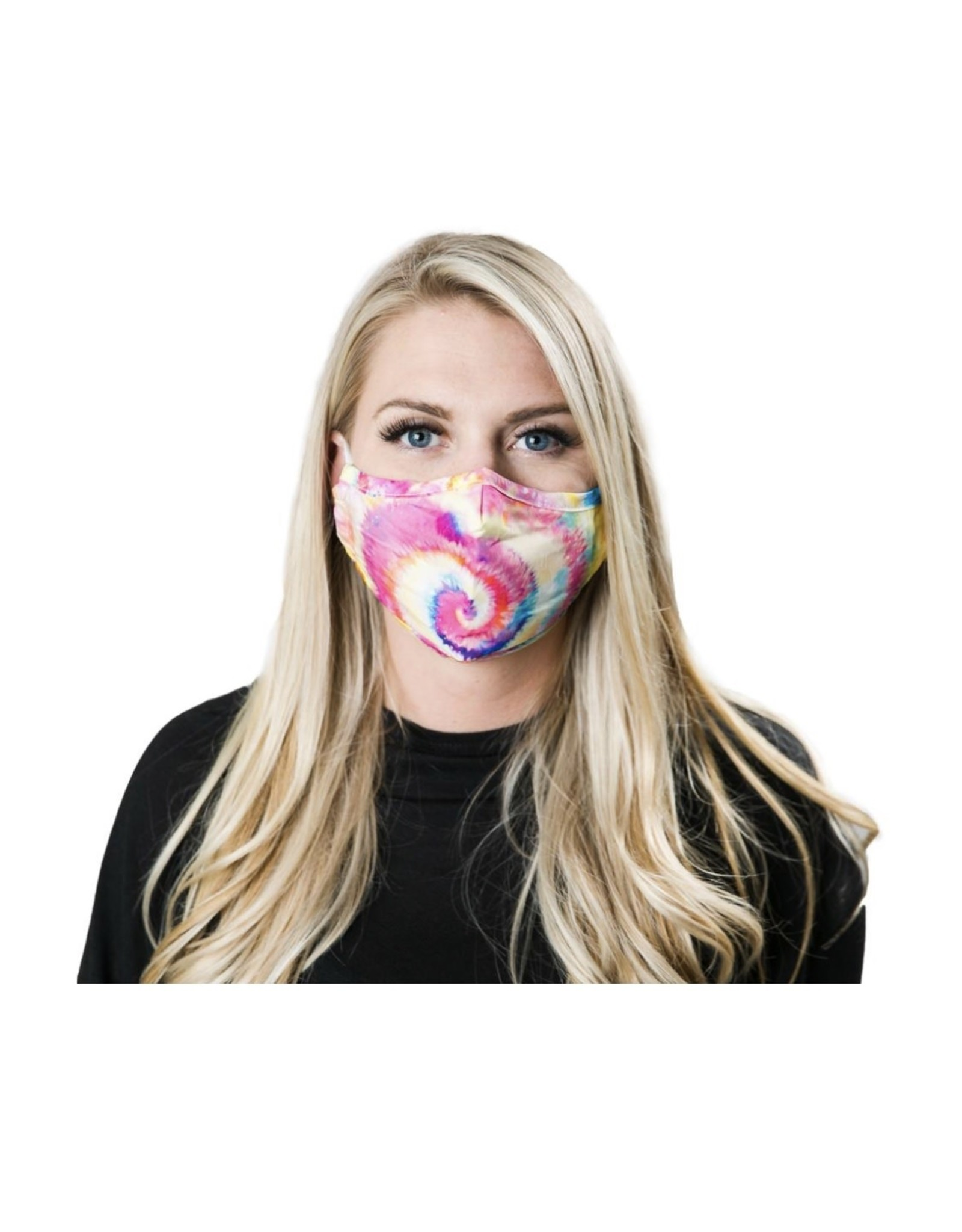 Rainbow Tie Dye Adult Masks