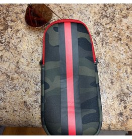 Ev Glasscase Brat Green Camo/Red