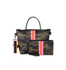 Ryan Mini Tote-Fix-Camo-Pink/orange stripe