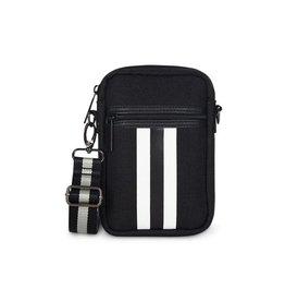 Casey Cell Phone Bag Twist Black/White