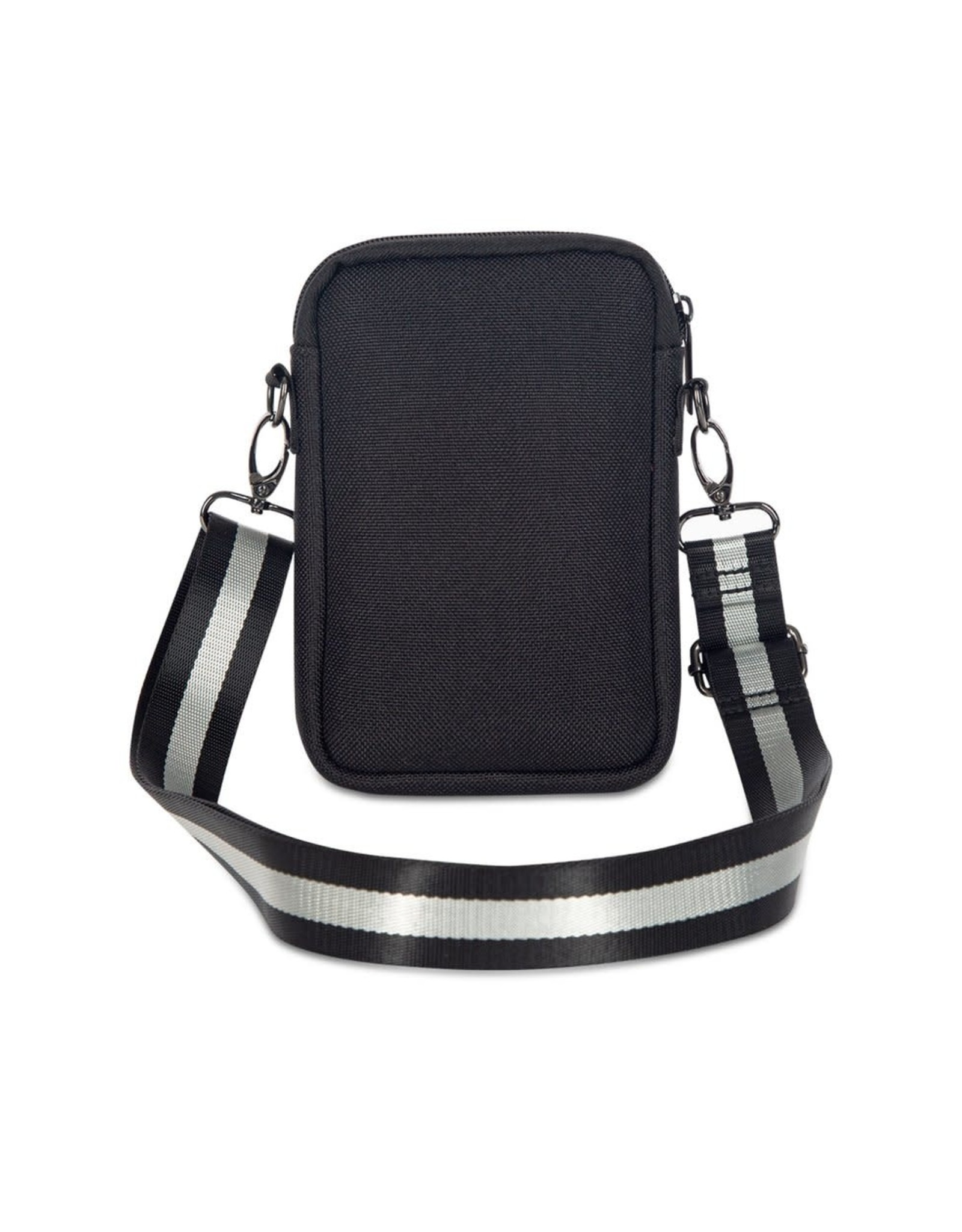 Casey Cell Phone Bag Twist Black/White