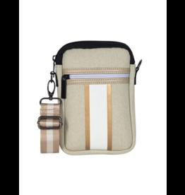 Casey Cellphone Bag Dune-Beige Linen