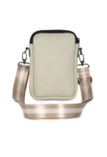 Casey Cellphone Bag Dune-Beige Linen