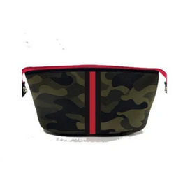 Erin cosmetic Brat Green Camo w/red