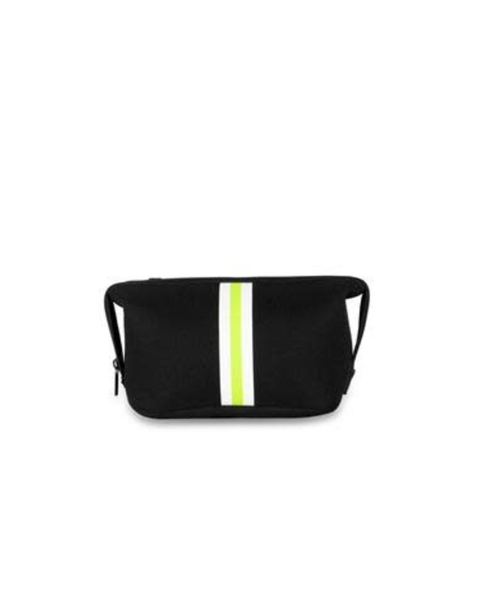 Erin Cosmetic Case Twist Black/Lime