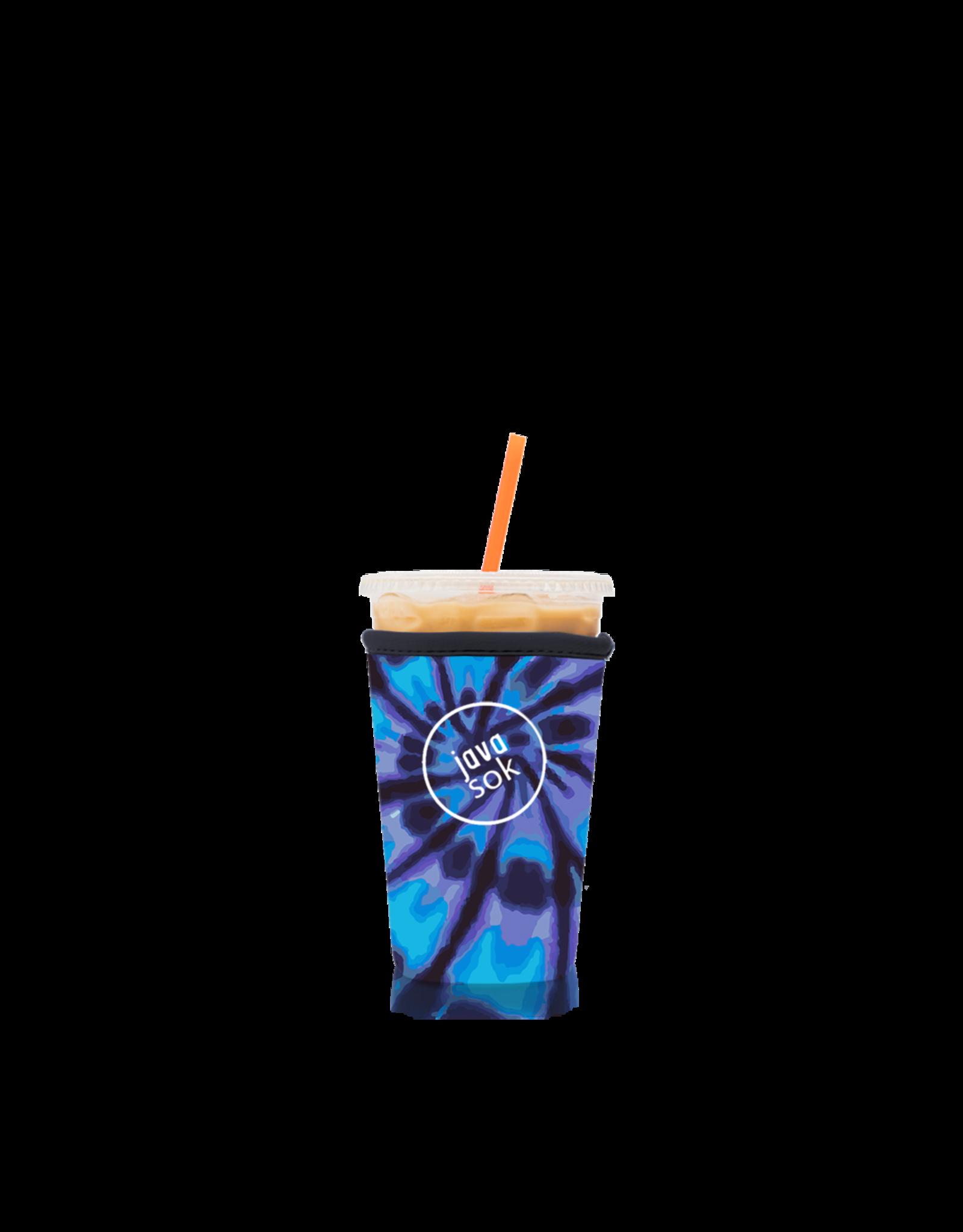 JavaSok  (Med) Tye Dye Blue