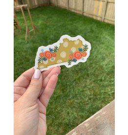Kentucky Floral sticker