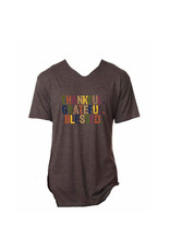 Thankful Grateful Blessed TShirt Small