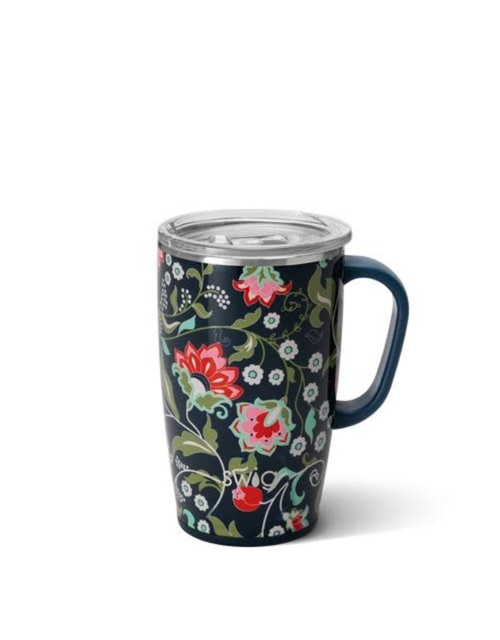 Lotus Blossom Swig 18 oz Mug