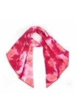 CC Pink/Coral Tie Dye Scarf