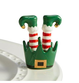 jingle toes ( elf Feet )
