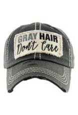 Gray Hair Don't Care hat