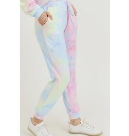Tie Dye Lounge Pants (Small)