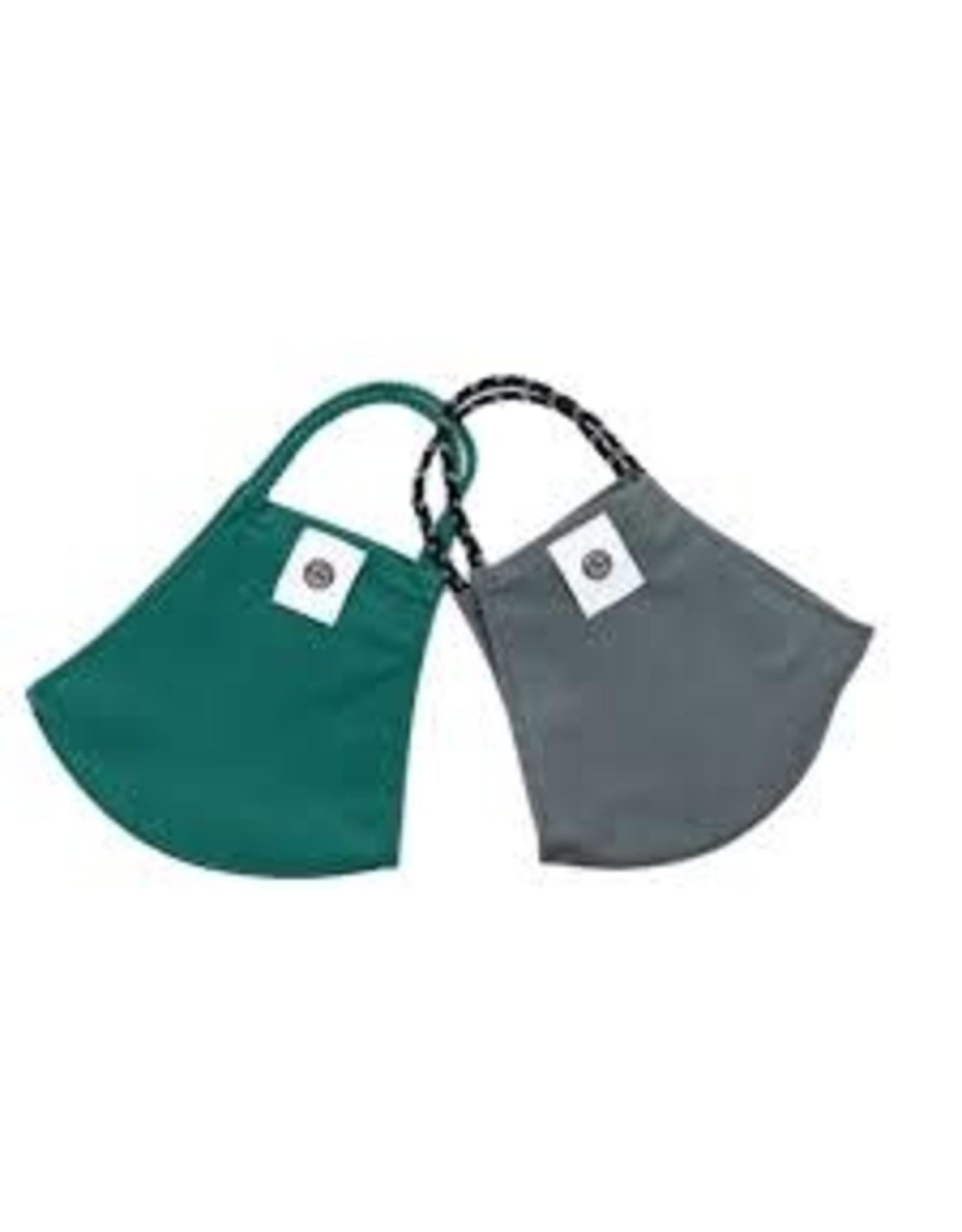 Pomchie Bottle Green/Gray 2 pack