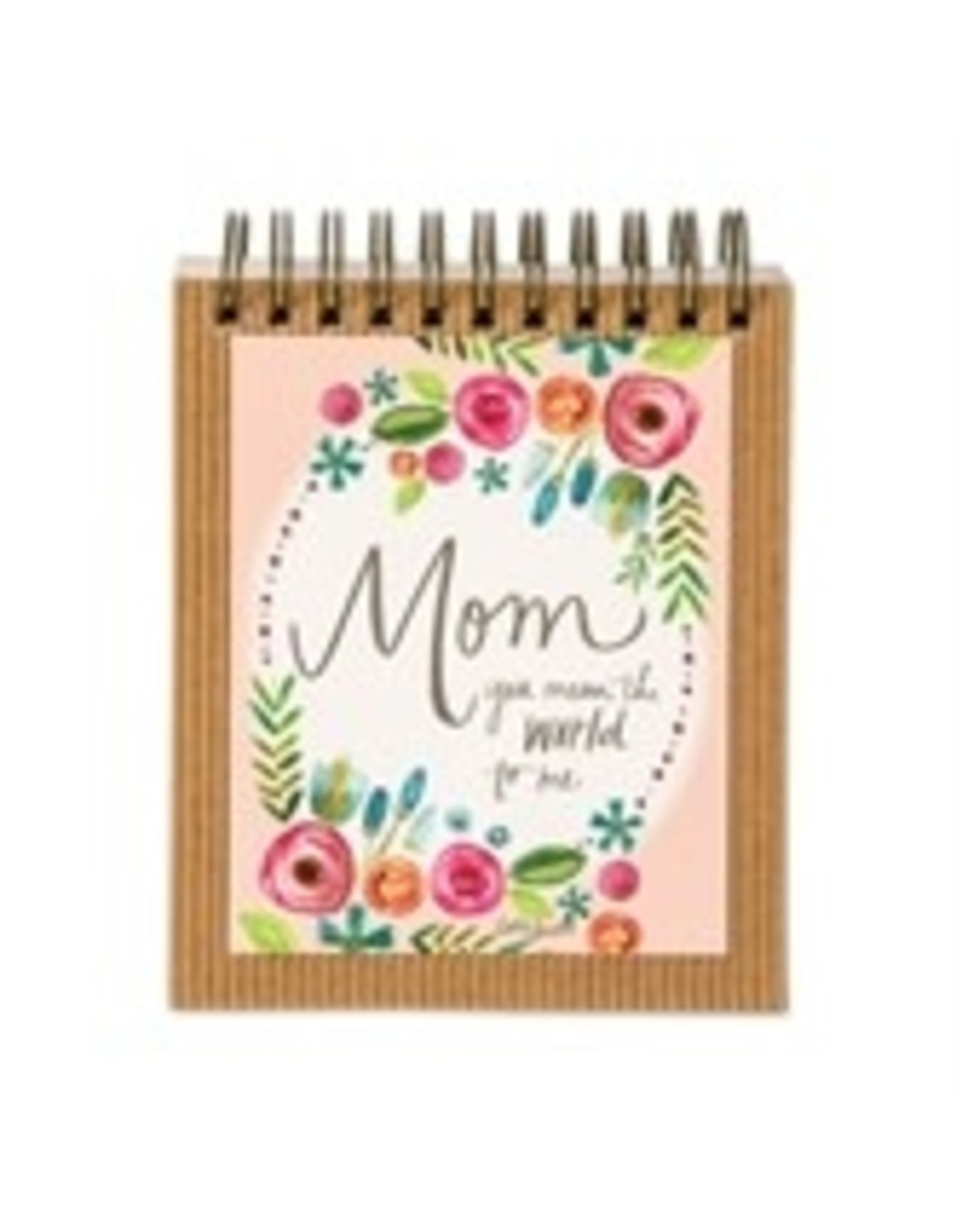 Mom You Mean the World Easel Book