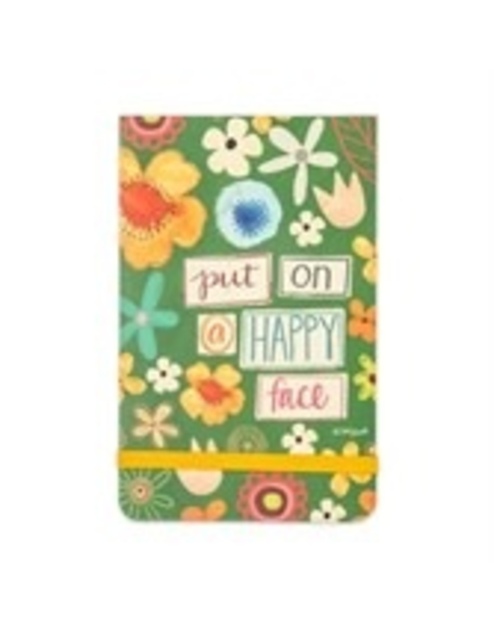 Put On Happy Face Pocket Note