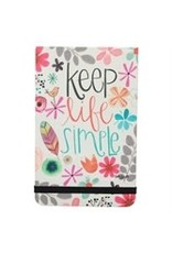 Keep Life Simple Pocket Note
