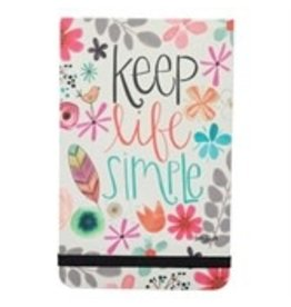 Keep Life Simple Pocket Note