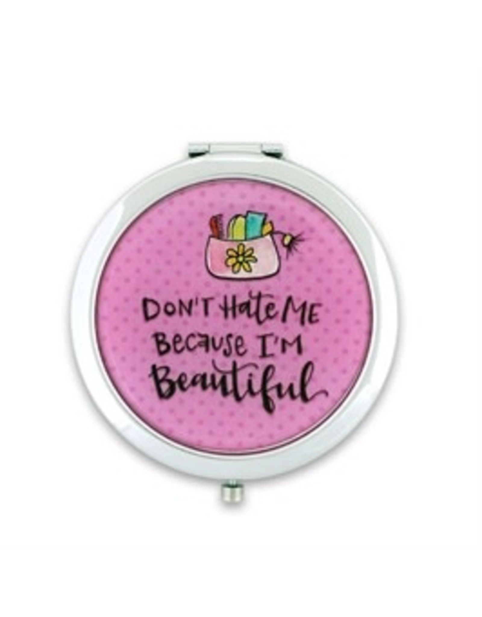 Don't hate me because compact mirror