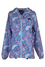 Paisley Rain Zip Jacket/Med